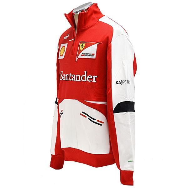 スクーデリア フェラーリ 2013ティームスタッフ用ハーフジップスウェット|itazatsu|02