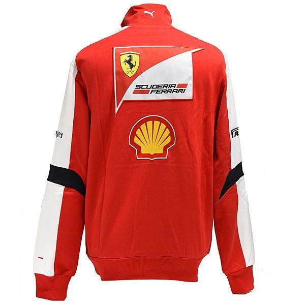 スクーデリア フェラーリ 2013ティームスタッフ用ハーフジップスウェット|itazatsu|03