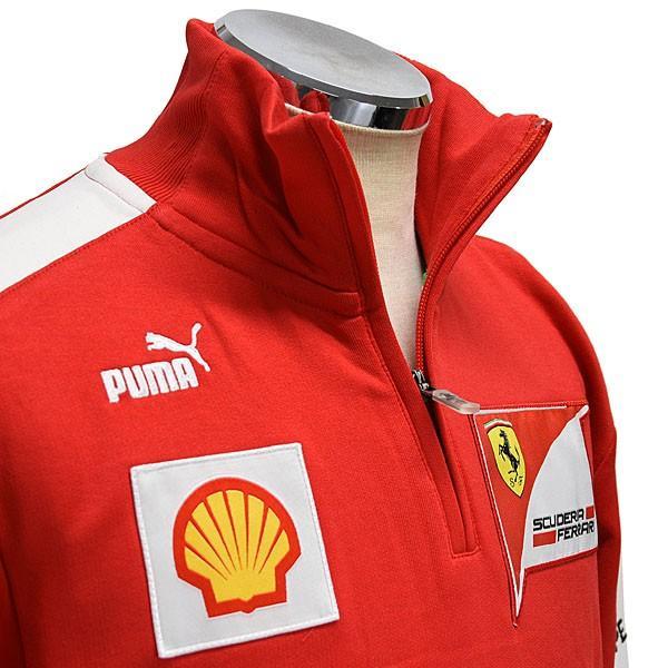 スクーデリア フェラーリ 2013ティームスタッフ用ハーフジップスウェット|itazatsu|04