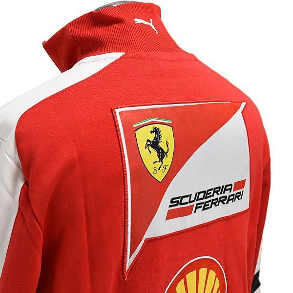 スクーデリア フェラーリ 2013ティームスタッフ用ハーフジップスウェット|itazatsu|05