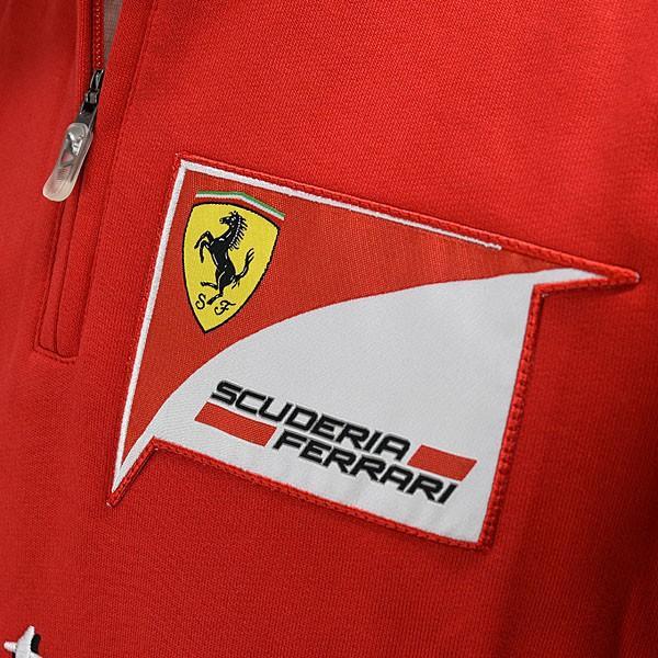 スクーデリア フェラーリ 2013ティームスタッフ用ハーフジップスウェット|itazatsu|06