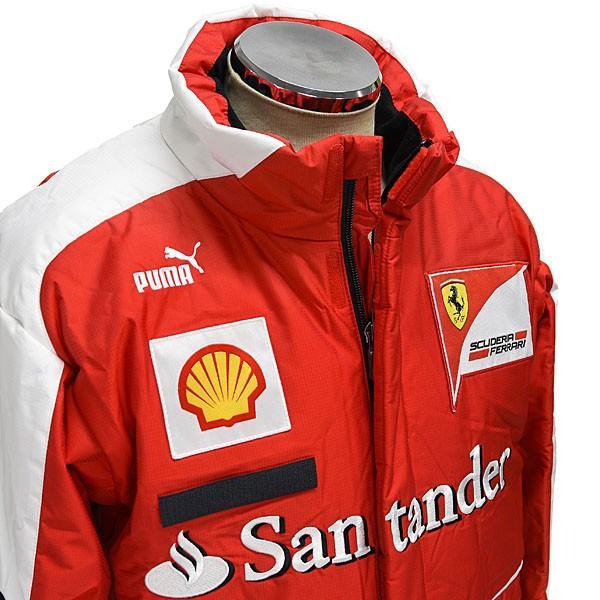 スクーデリア フェラーリ 2013ティームスタッフ用ウィンタージャケット|itazatsu|04
