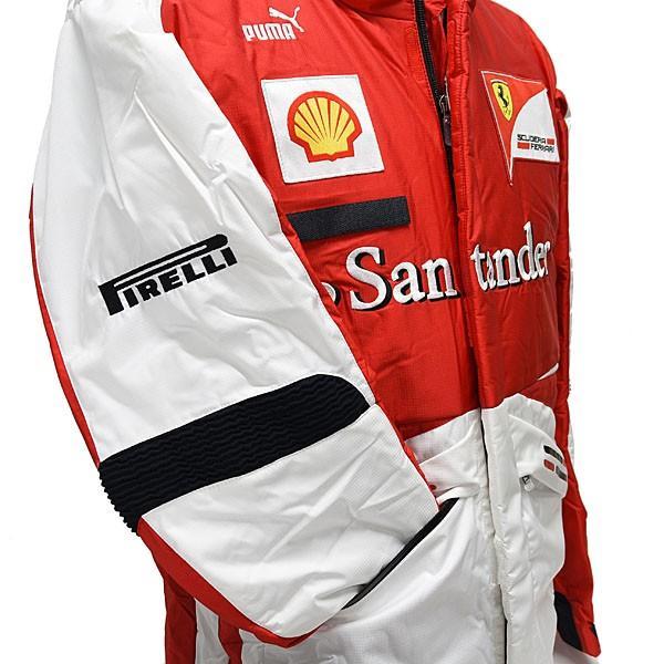 スクーデリア フェラーリ 2013ティームスタッフ用ウィンタージャケット|itazatsu|08
