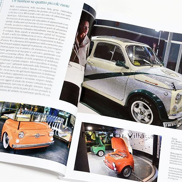 フィアット FIAT 500 CLUB ITALIA FIAT 500 60周年記念ブック|itazatsu|06