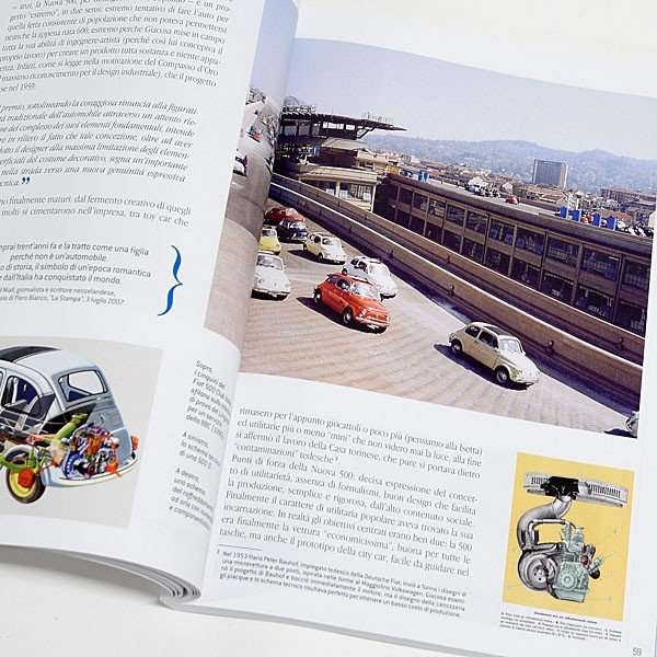 フィアット FIAT 500 CLUB ITALIA FIAT 500 60周年記念ブック|itazatsu|08