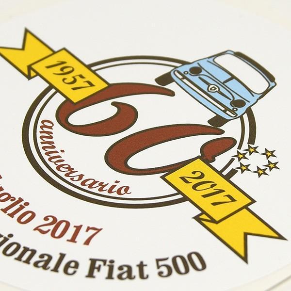 フィアット FIAT 500 CLUB ITALIA 500 60周年記念ステッカー|itazatsu|03