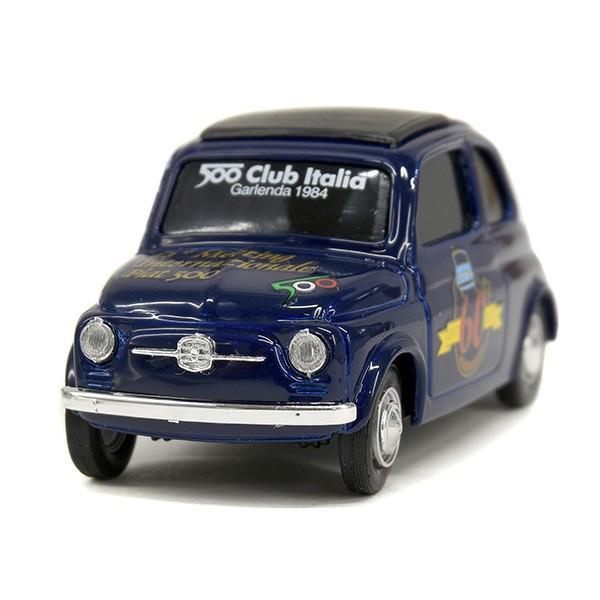 1/43 フィアット 500 60周年記念ミニチュアモデルモデル by フィアット 500 CLUB ITALIA|itazatsu
