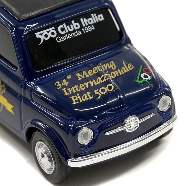 1/43 フィアット 500 60周年記念ミニチュアモデルモデル by フィアット 500 CLUB ITALIA|itazatsu|04