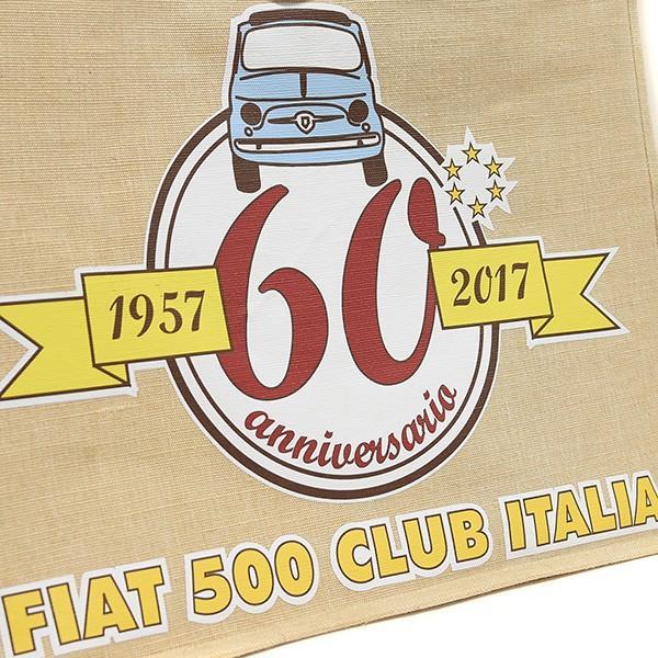 フィアット FIAT 500 CLUB ITALIA 500 60周年記念キャンバストートバッグ|itazatsu|04