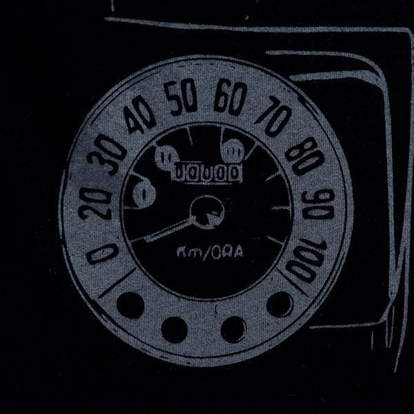 フィアット純正 Nuova 500Tシャツ(ブラック) itazatsu 05