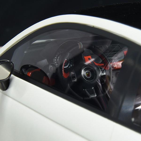 1/18 アバルト 595 50th Anniversarioミニチュアモデル by BBR|itazatsu|05