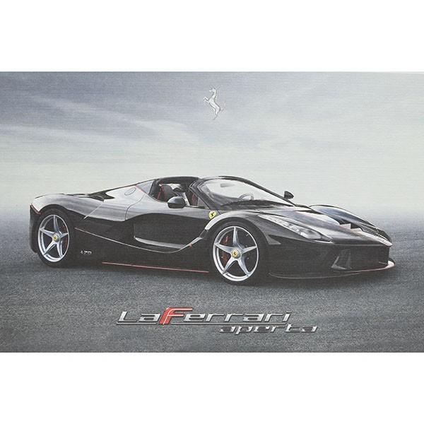 フェラーリ純正 La Ferrari Apertaテクニカルカード|itazatsu