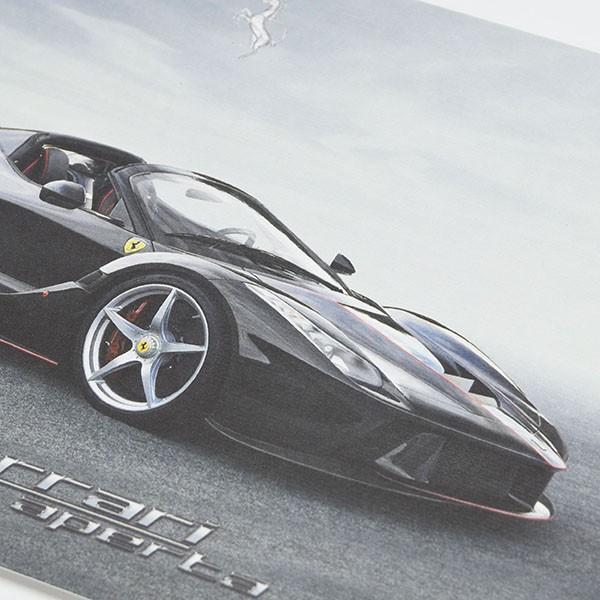 フェラーリ純正 La Ferrari Apertaテクニカルカード|itazatsu|04