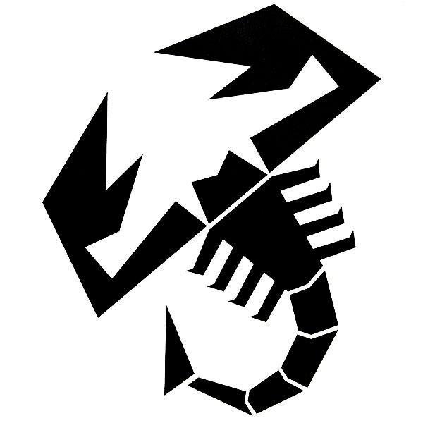アバルト SCORPIONEステッカー(切り文字タイプ)|itazatsu