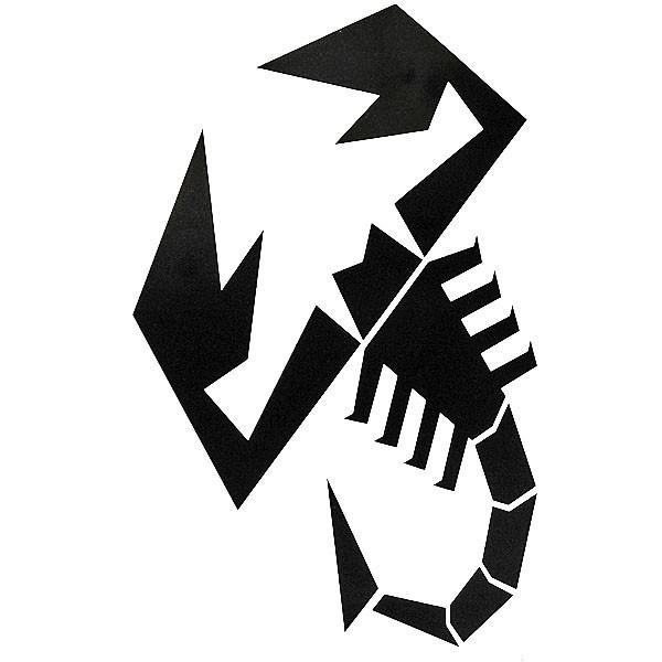 アバルト SCORPIONEステッカー(切り文字タイプ)|itazatsu|02