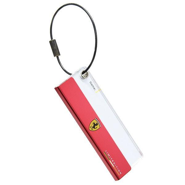 フェラーリ Ferrari STORE Madridオフィシャルネームタグ|itazatsu