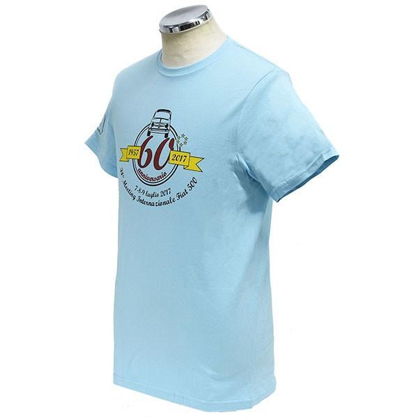 フィアット FIAT 500 CLUB ITALIA FIAT 500 60周年記念Tシャツ itazatsu 02