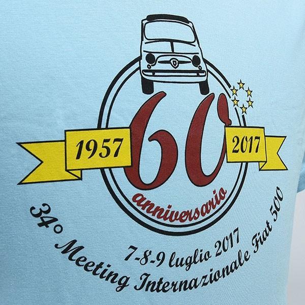 フィアット FIAT 500 CLUB ITALIA FIAT 500 60周年記念Tシャツ itazatsu 04