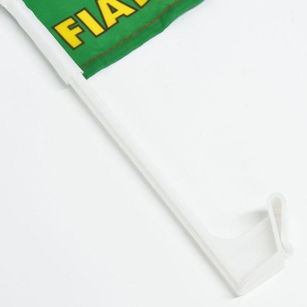 フィアット FIAT 500 CLUB ITALIA FIAT 500 60周年記念ウィンドウフラッグ itazatsu 06