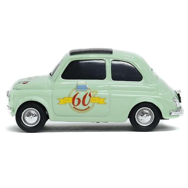 1/43 フィアット FIAT 500 CLUB ITALIA FIAT 500 60周年記念ミニチュアモデル(グリーン)|itazatsu|03