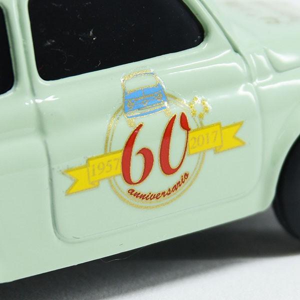 1/43 フィアット FIAT 500 CLUB ITALIA FIAT 500 60周年記念ミニチュアモデル(グリーン)|itazatsu|05