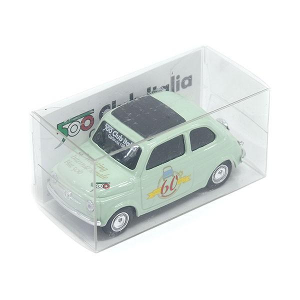 1/43 フィアット FIAT 500 CLUB ITALIA FIAT 500 60周年記念ミニチュアモデル(グリーン)|itazatsu|06