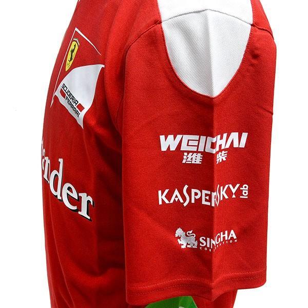 スクーデリア フェラーリ2016ティームスタッフ用Tシャツ itazatsu 04