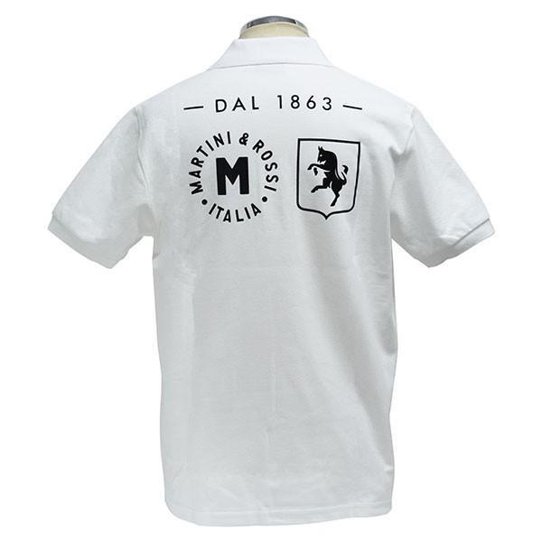 マルティニ オフィシャルポロシャツ(ホワイト)|itazatsu|02