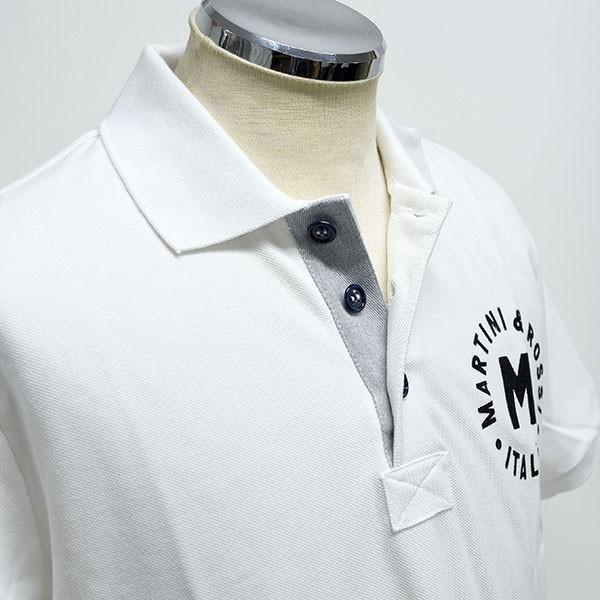 マルティニ オフィシャルポロシャツ(ホワイト)|itazatsu|03
