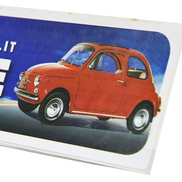フィアット FIAT 500 CLUB ITALIAオフィシャルステッカー -I LOVE 500-|itazatsu|03