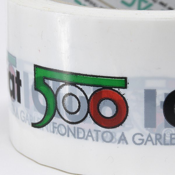 フィアット FIAT 500 CLUB ITALIAオフィシャルビニールテープ|itazatsu|05