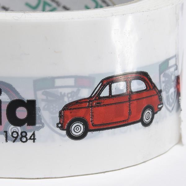 フィアット FIAT 500 CLUB ITALIAオフィシャルビニールテープ|itazatsu|06