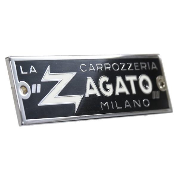 CARROZZERIA ZAGATO MILANOエンブレムプレート(シルバー) itazatsu 02