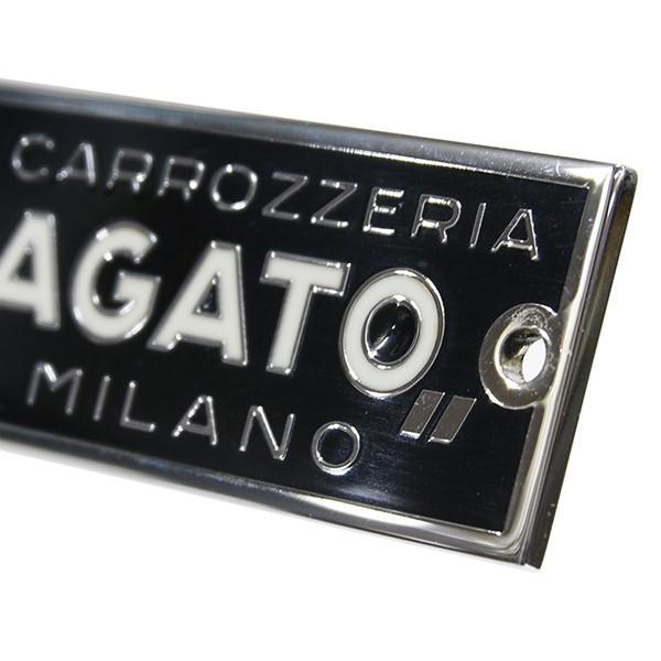 CARROZZERIA ZAGATO MILANOエンブレムプレート(シルバー) itazatsu 03