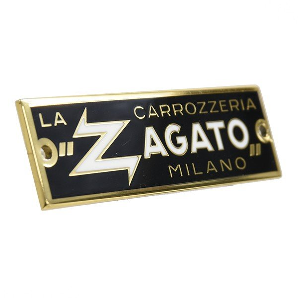 CARROZZERIA ZAGATO MILANOエンブレムプレート(ゴールド)|itazatsu|02