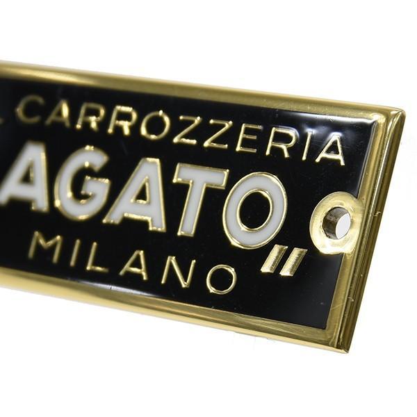 CARROZZERIA ZAGATO MILANOエンブレムプレート(ゴールド)|itazatsu|03
