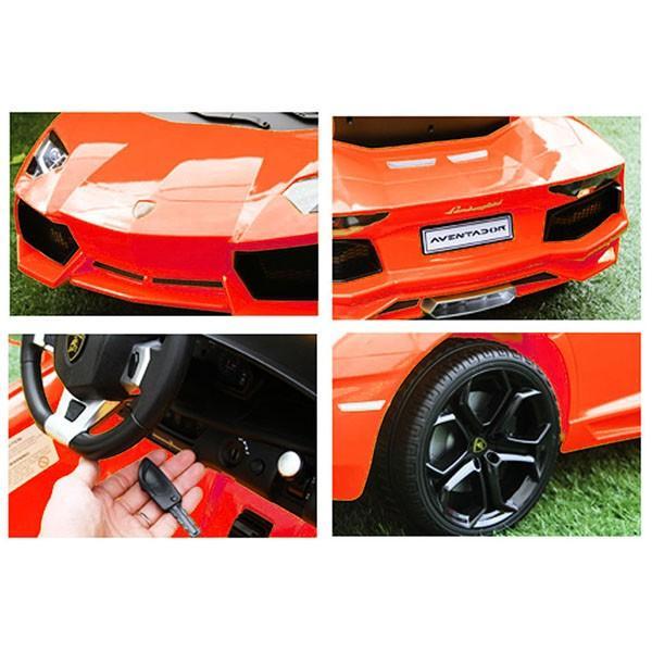 ランボルギーニ Aventador LP700-4電動乗用ラジオコントロールカー(ホワイト) itazatsu 04