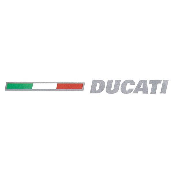 ドゥカティ純正 ロゴ&イタリア国旗ステッカー|itazatsu
