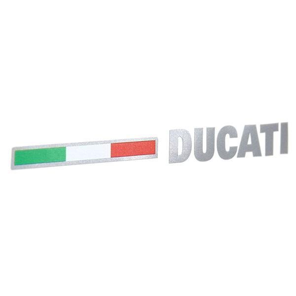 ドゥカティ純正 ロゴ&イタリア国旗ステッカー|itazatsu|02