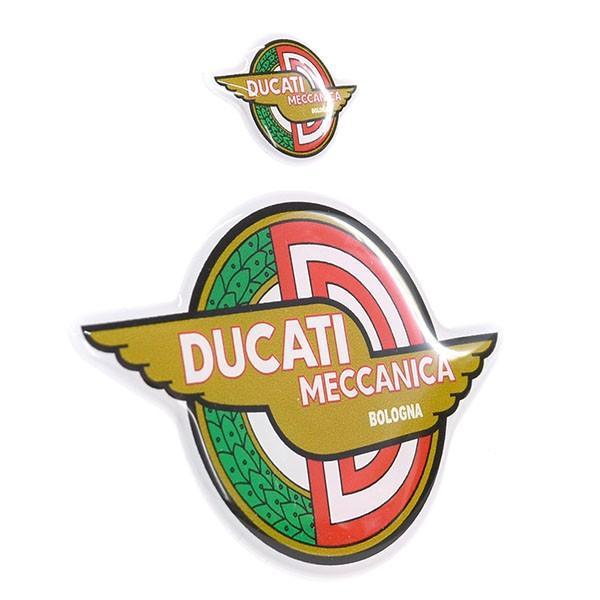 ドゥカティ DUCATI MECCANICA 3Dステッカーセット(2枚組)|itazatsu|02