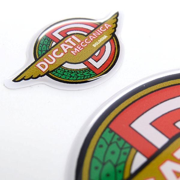 ドゥカティ DUCATI MECCANICA 3Dステッカーセット(2枚組)|itazatsu|03