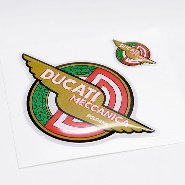 ドゥカティ DUCATI MECCANICA 3Dステッカーセット(2枚組)|itazatsu|04