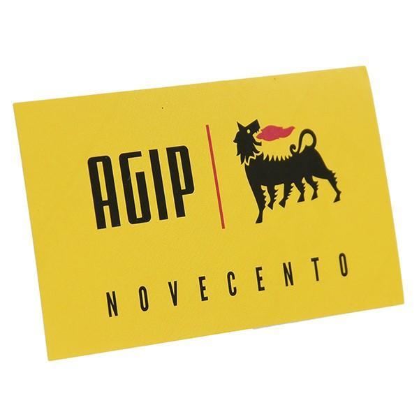 Agip NOVECENTOステッカー(80mm)|itazatsu|02
