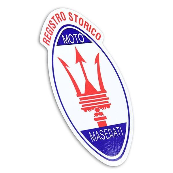 Registro Storico MOTO MASERATIエンブレムステッカー|itazatsu|02