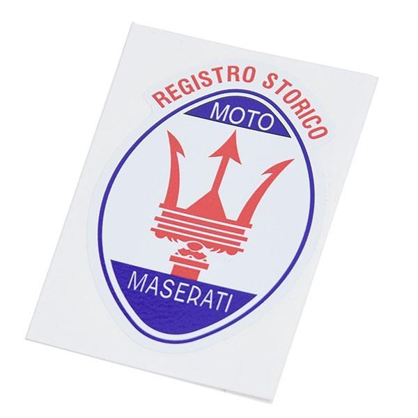 Registro Storico MOTO MASERATIエンブレムステッカー|itazatsu|04