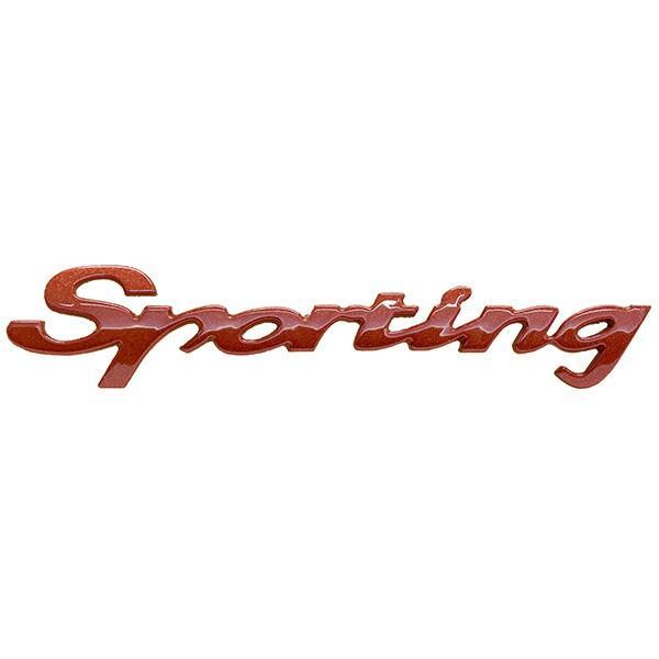 フィアット純正 Sportingロゴエンブレム|itazatsu
