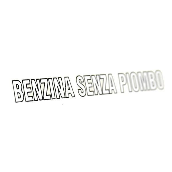 アルファロメオ/フィアット/ランチア純正 BENZINA SENZA PIOMBOロゴステッカー itazatsu 03