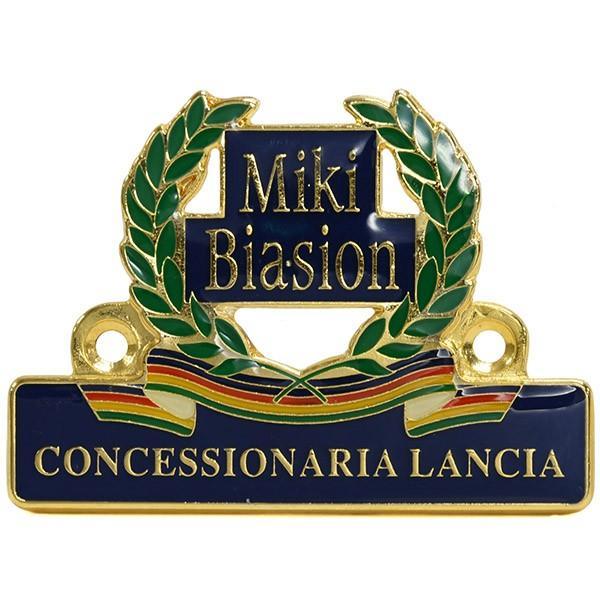 CONCESSIONARIA LANCIA -Miki BIASION-ディーラーズエンブレム|itazatsu