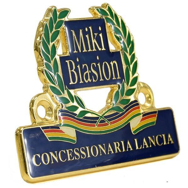 CONCESSIONARIA LANCIA -Miki BIASION-ディーラーズエンブレム|itazatsu|02