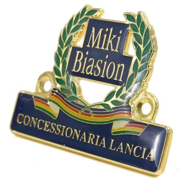 CONCESSIONARIA LANCIA -Miki BIASION-ディーラーズエンブレム|itazatsu|03
